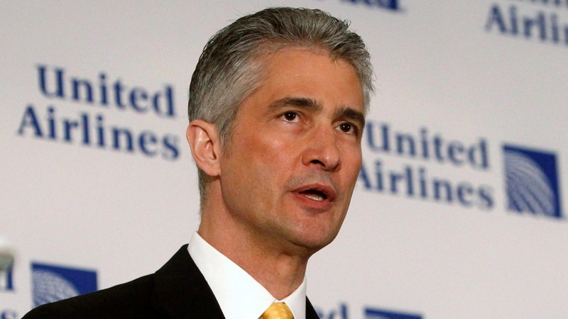 United CEO takes off amid federal probe