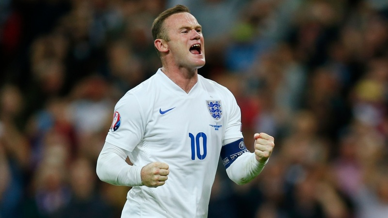 50 goals: Rooney nets England scoring record