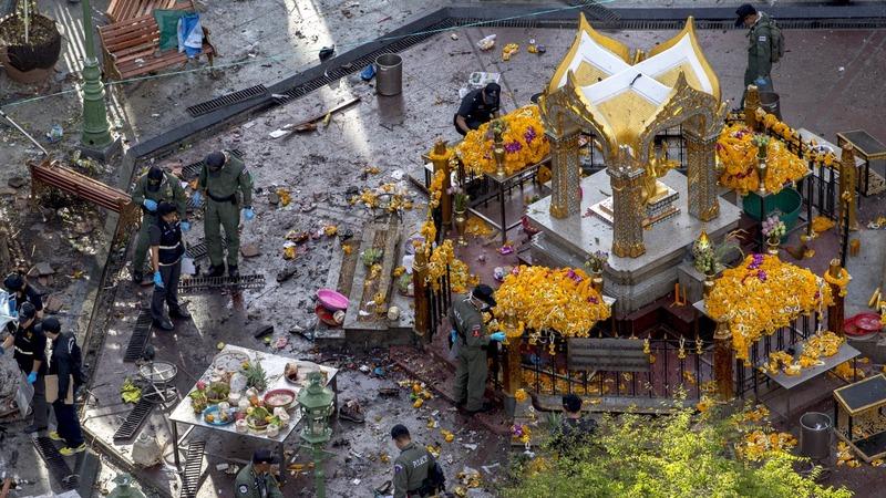 Bangkok bomb mastermind got away before blast