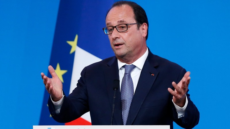 France calls for action on climate change