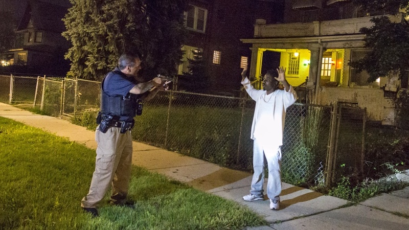 A ride-along in Chicago's  deadliest neighborhood