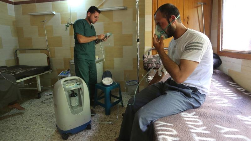 UN launches Syria gas attacks probe