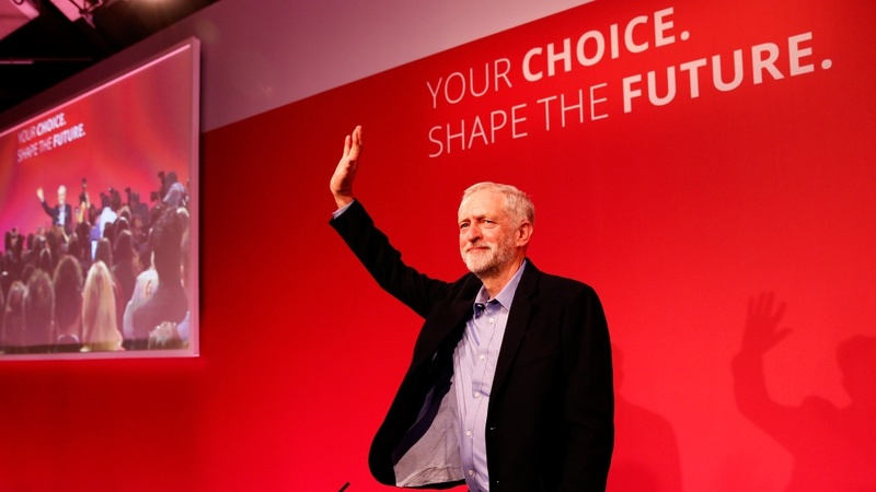 Jeremy Corbyn in landslide Labour win