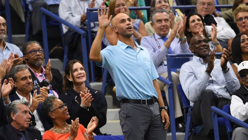 Former tennis star wants cop fired