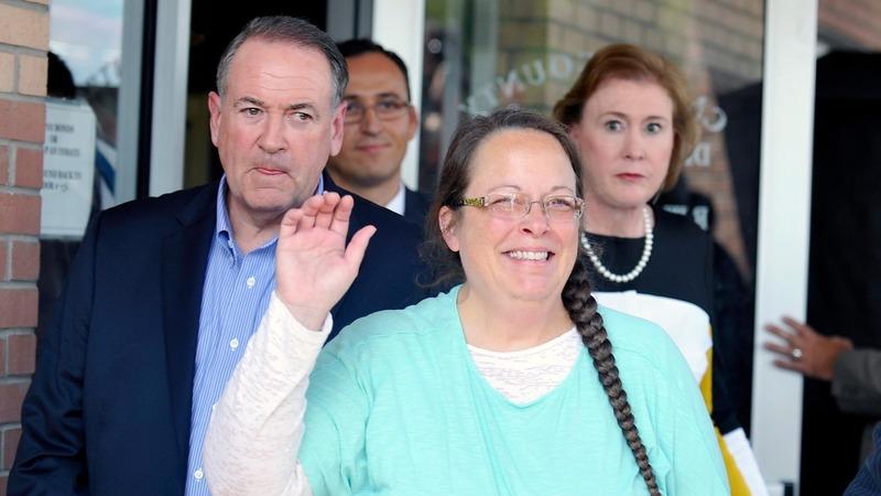 VERBATIM: Kim Davis won't authorize or stop licenses