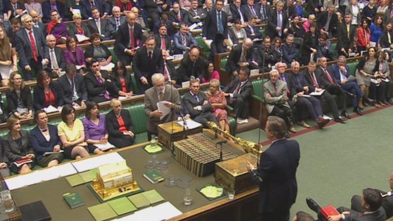 VERBATIM: Corbyn battles Cameron in PMQs