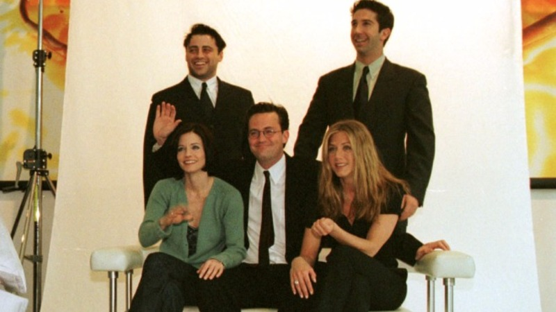 American sitcom Friends goes to 'London, baby'