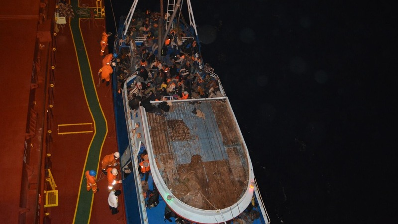 Merchant ships saving thousands of migrants