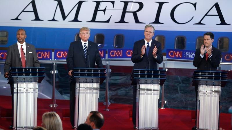 VERBATIM: Fiorina, Trump, Bush clash in CA