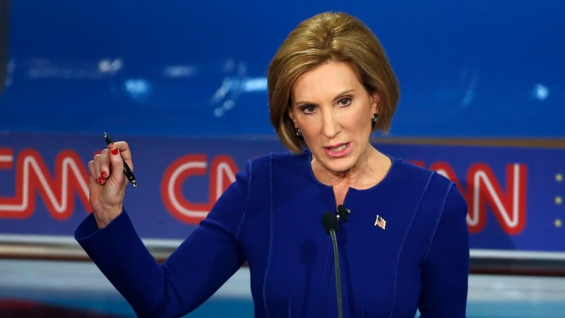 Fiorina claims win in 2nd GOP debate