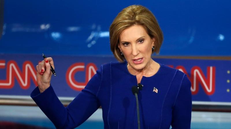 Fiorina claims win in 2nd GOP debate