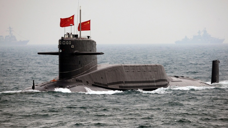 Island runways point to China's nuclear subs