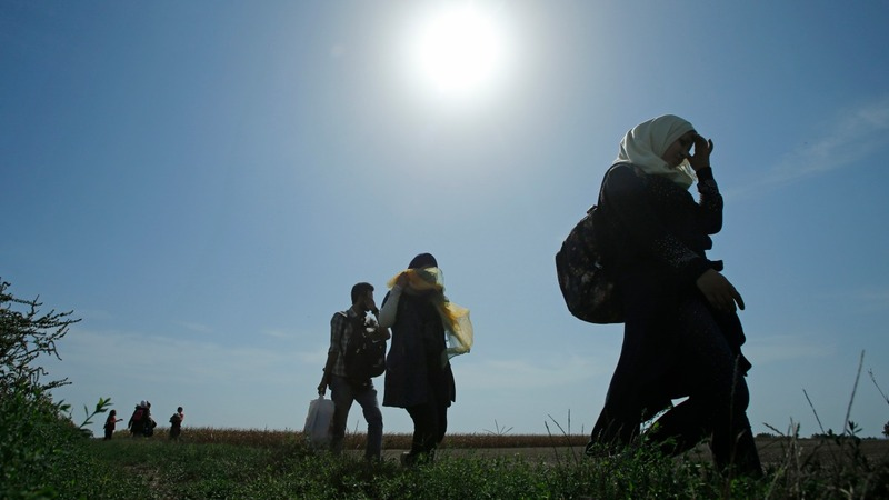 Refugees search for new routes to Europe