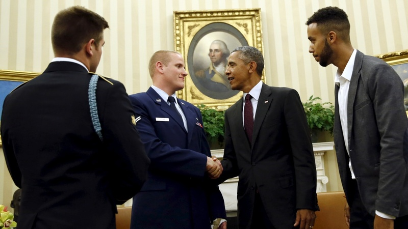 VERBATIM: Obama thanks 3 men who subdued Paris gunman