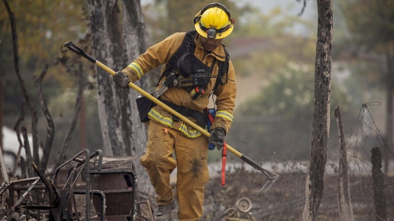 California wildfires claim more victims