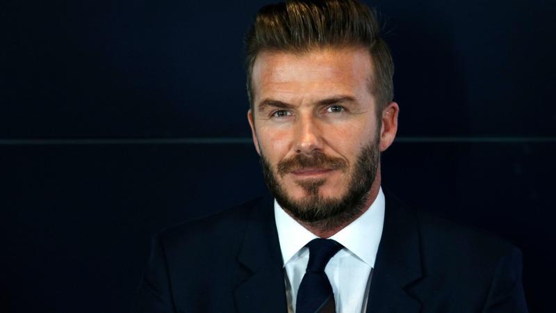 VERBATIM: Beckham stars in 'Outlaws' short