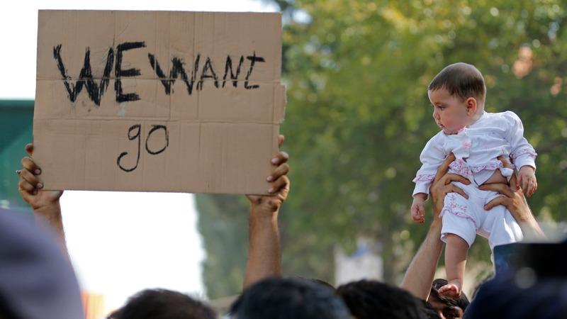 Tensions boil over at Croatia border crossing