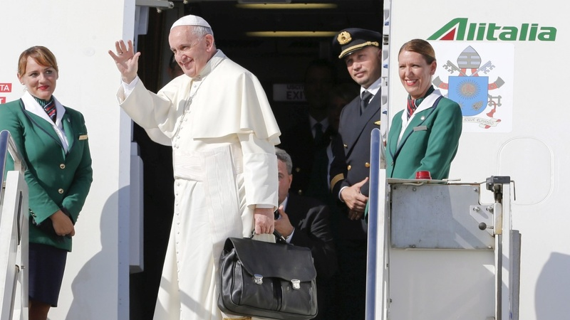 Behind Pope Francis' historic trip