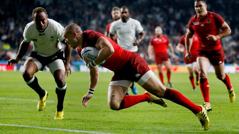 Rugby World Cup: England start with win