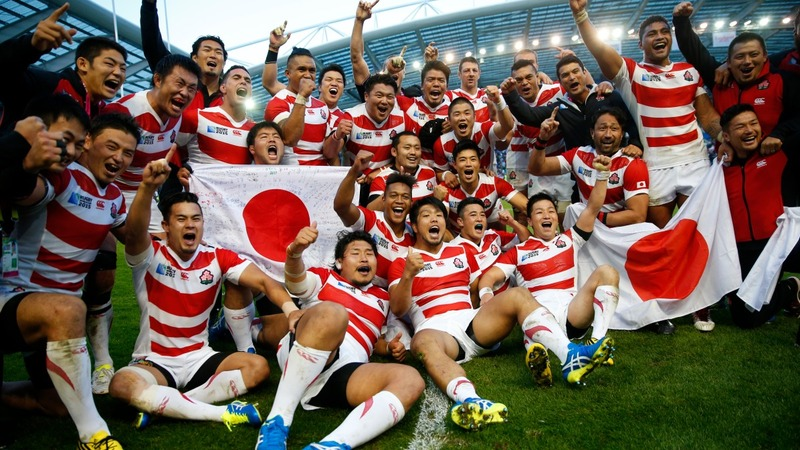 Rugby World Cup: Japan stun South Africa