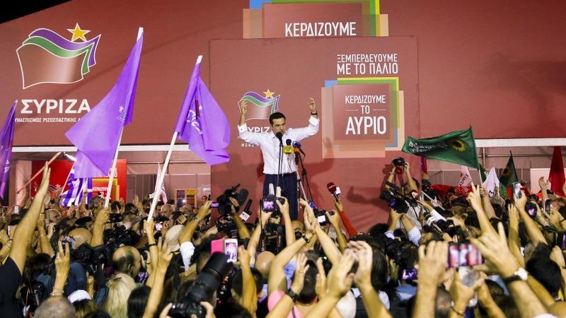 Tsipras sworn in as PM, again