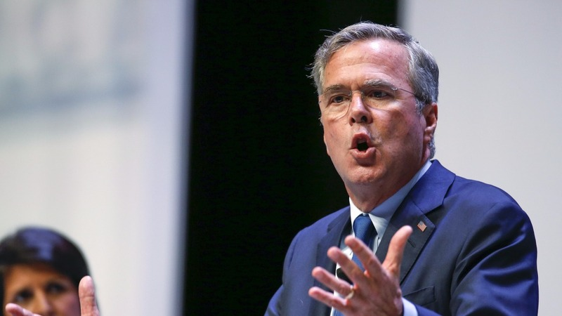 In a reversal, Jeb embraces the Bush name