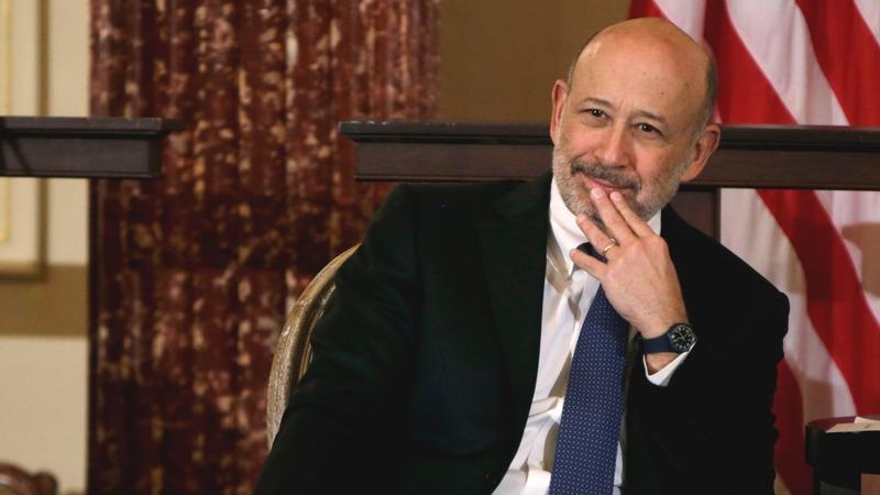 Goldman Sachs CEO battling lymphoma