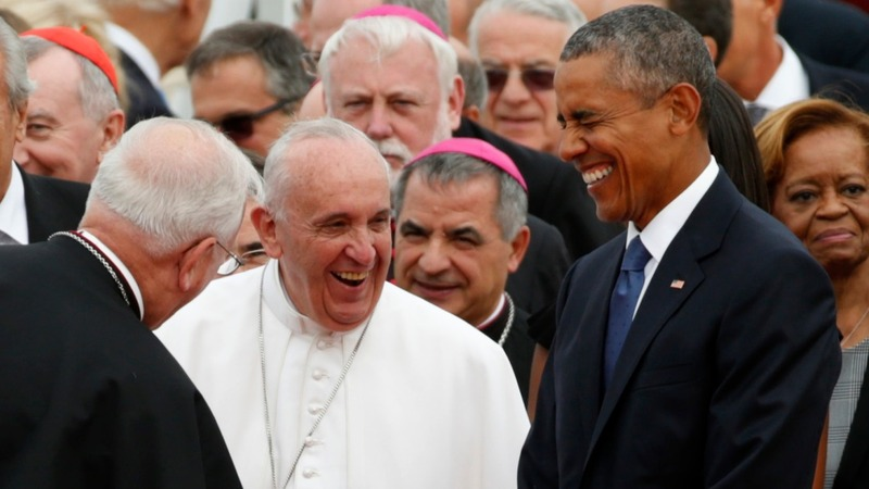 Politics and religion mix at the White House