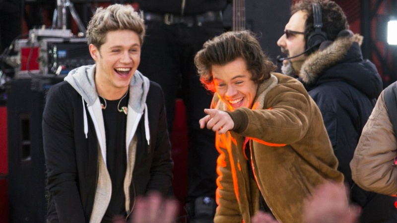 Fans weep as One Direction come home
