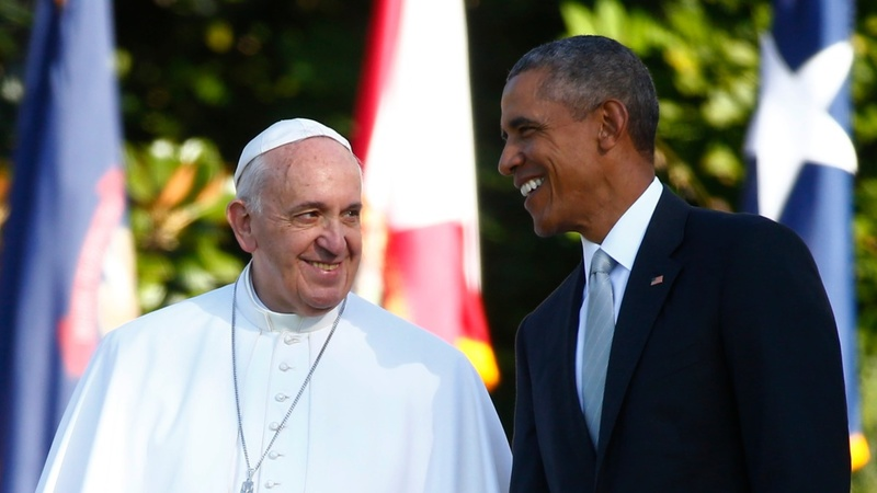 Pope Francis takes Washington by storm