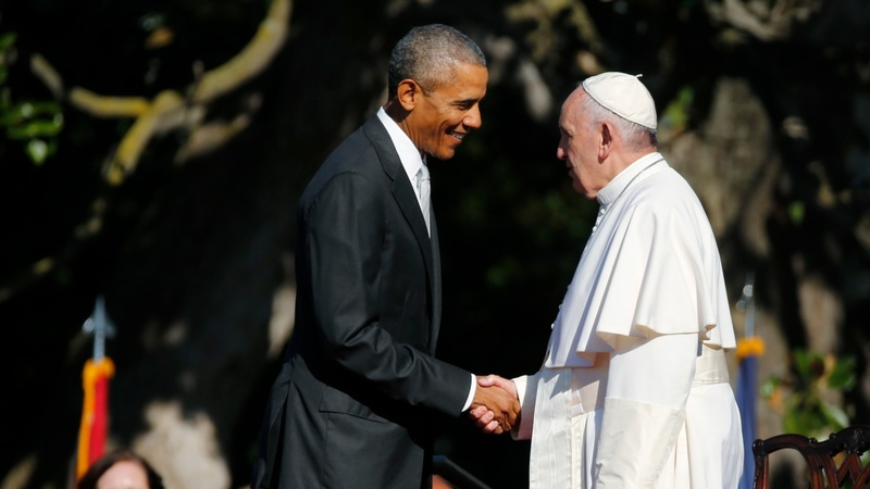 Obama-Pope Francis tackle climate, immigration