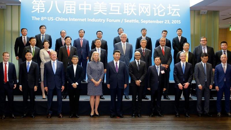 China and U.S. talk tech behind closed doors