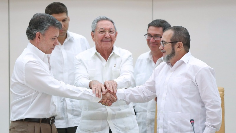 Colombia, FARC rebels near end of 50-year war