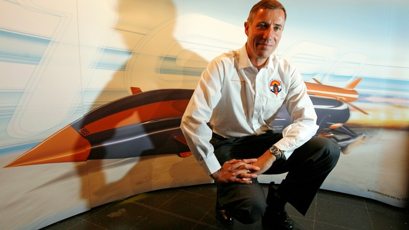 Bloodhound supersonic car makes world debut