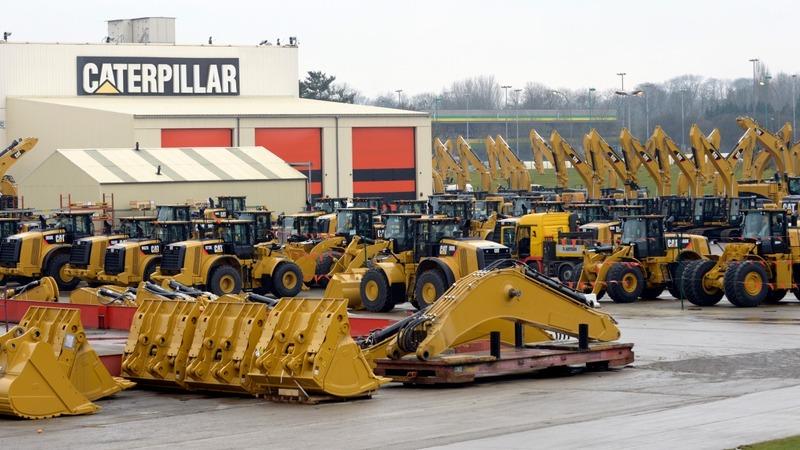 Caterpillar announces 10,000 job cuts