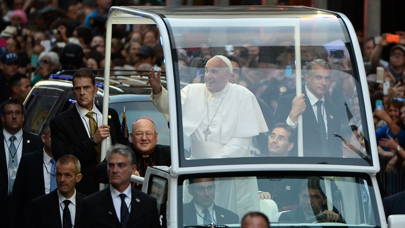 Pope kicks off New York City tour
