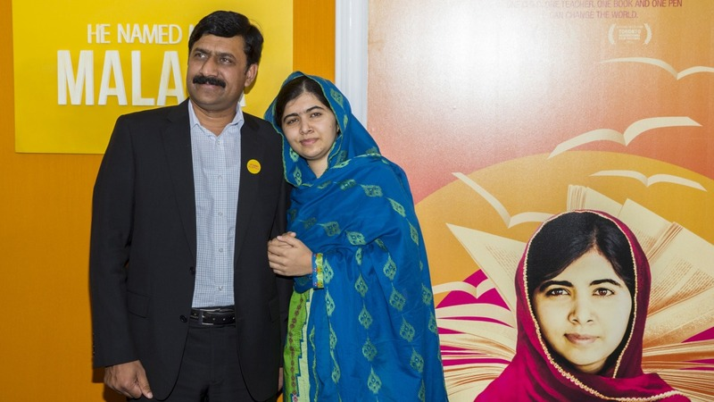Malala, and her story, debut in new doc