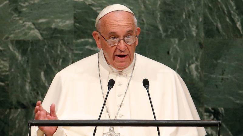 VERBATIM: Pope endorses Iran nuclear deal
