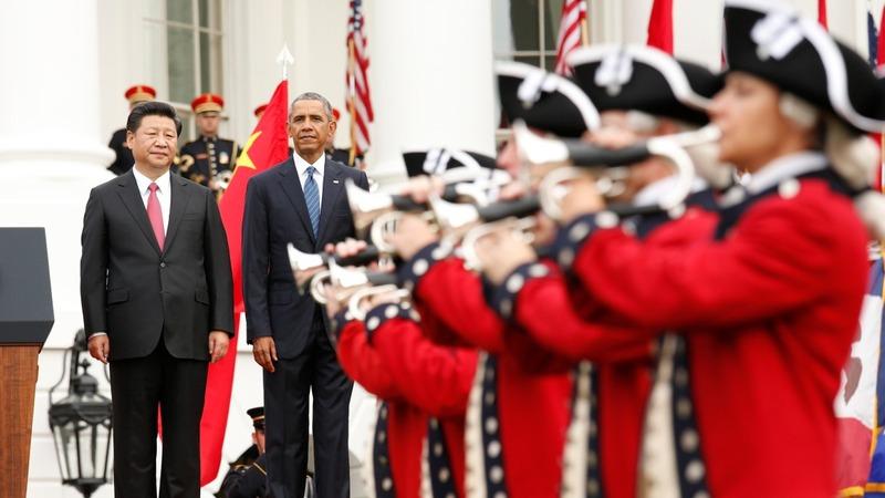 VERBATIM: Obama welcomes China's Xi
