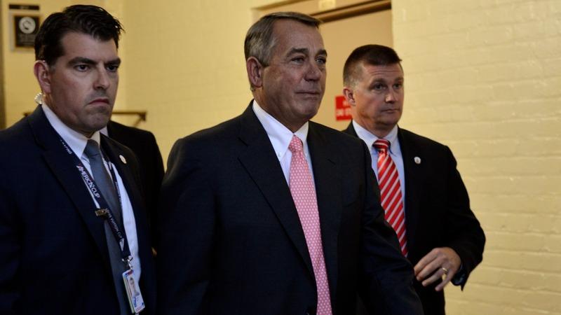 Boehner resignation stuns Washington