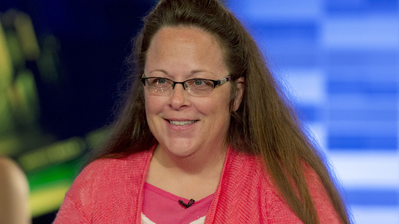 Kim Davis says oath of office protects her