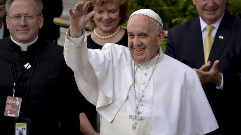 Pope holds mass in the city of brotherly love