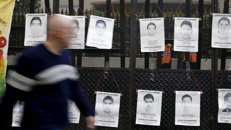 Mexico's missing students: one year later