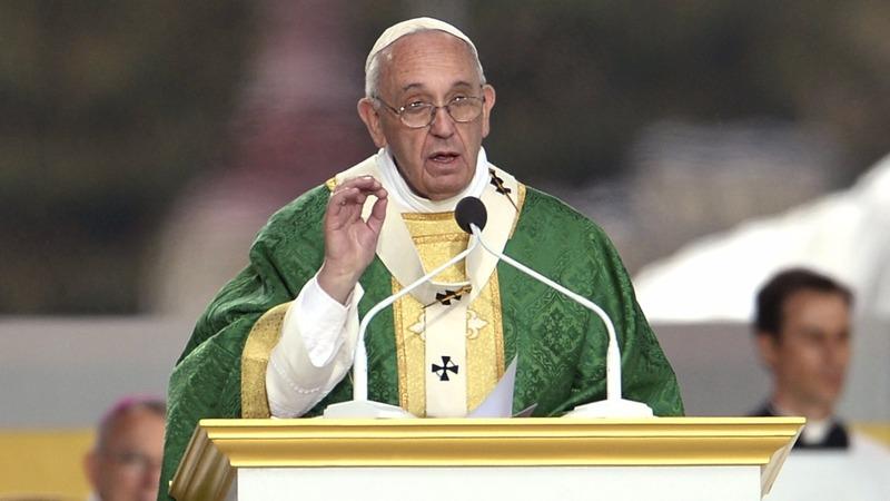 VERBATIM: Pope delivers Mass in Philadelphia