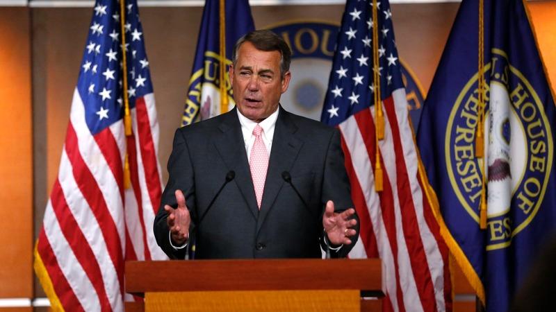 Tea Party energized as Boehner says goodbye