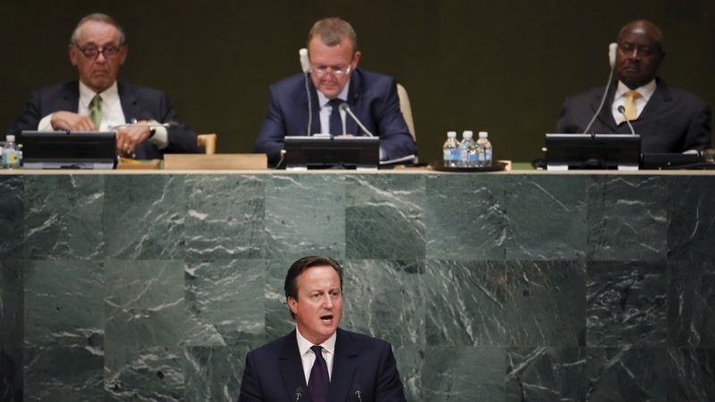 VERBATIM: Cameron calls to boost aid