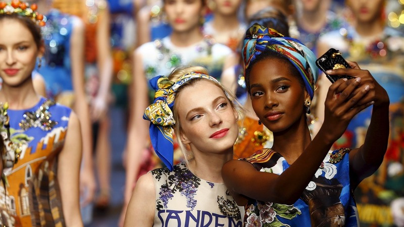 D&G have love for Italy at Milan fashion week