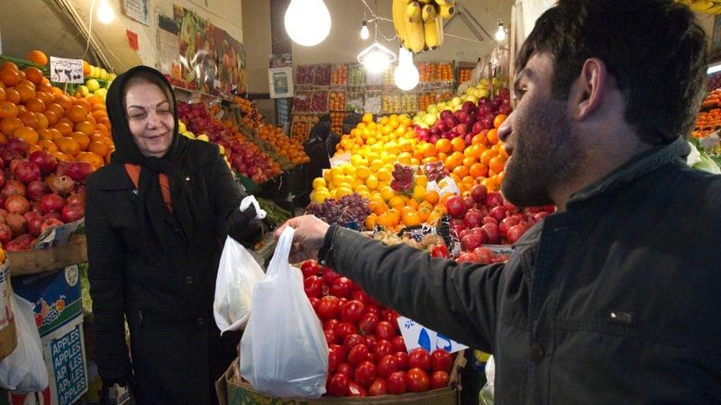 Nuclear fallout: Iranian shoppers wait