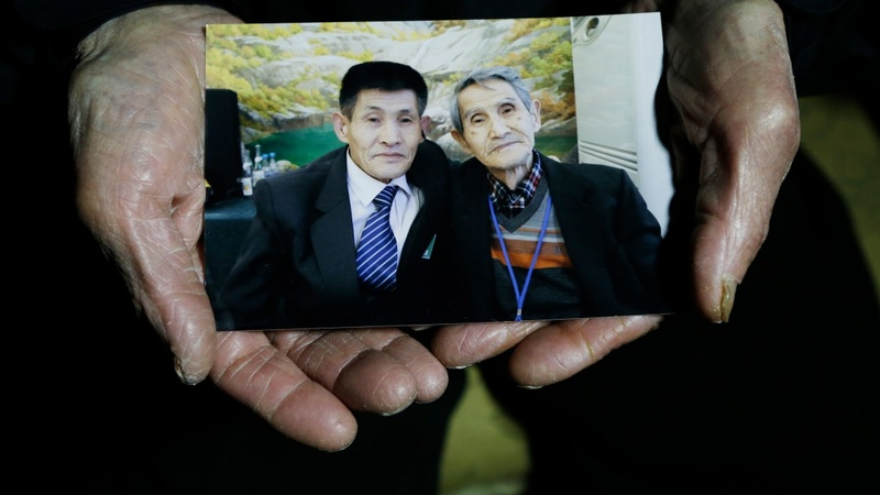 Split Korean families play lotto for reunion