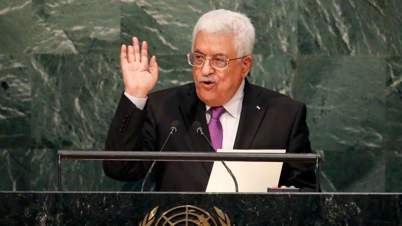 Abbas: Israel undermines peace efforts